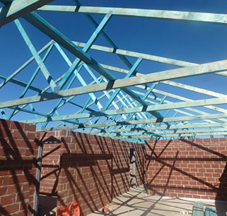 Timber wall frames roof trusses in perth for Pre made trusses price